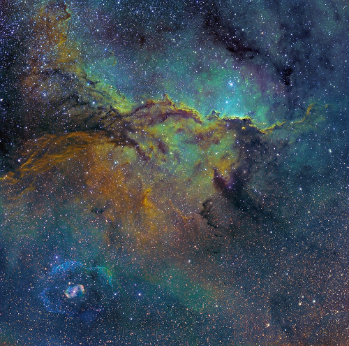Fighting Dragons of Ara (NGC 6188 & 6164) | by strongmanmike2002
