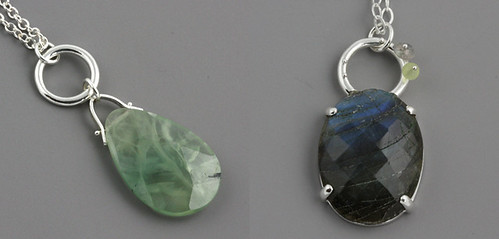 Two pendants | by Sarah Hood Jewelry