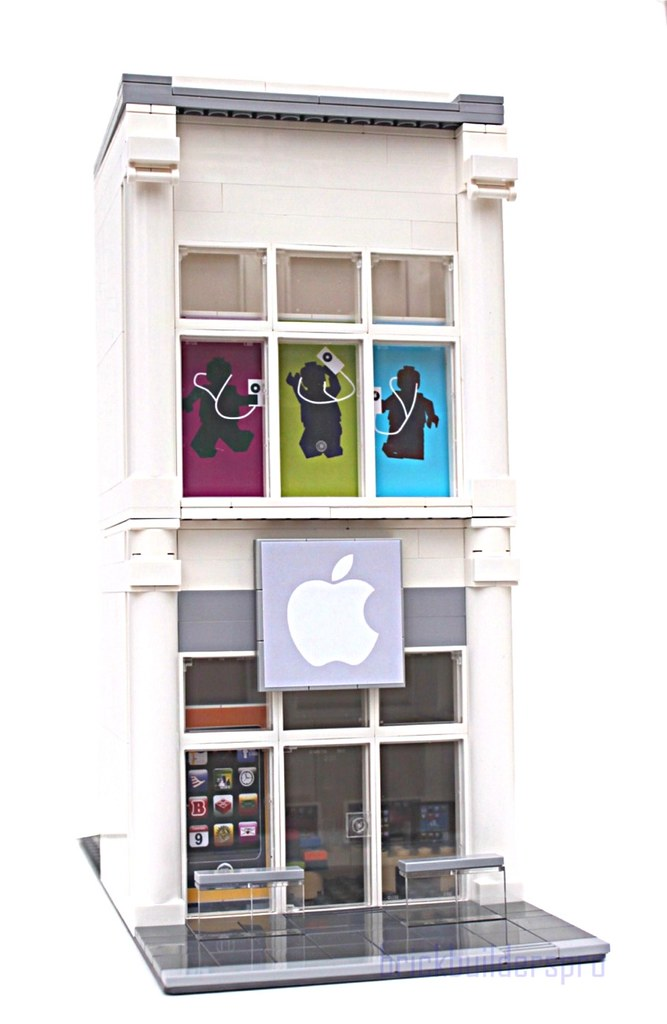 Lego Apple Store | I photographed and built this so that it … | Flickr