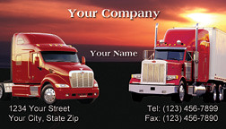 Trucking company business card red business cards wedding flickr trucking company business card red by printfirm colourmoves