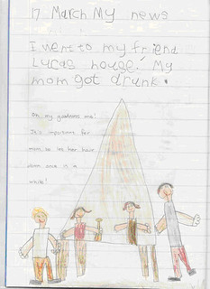 """I was NOT drunk!"" says Daniel's Mom...but try explaining that to the school guidance counselor... 