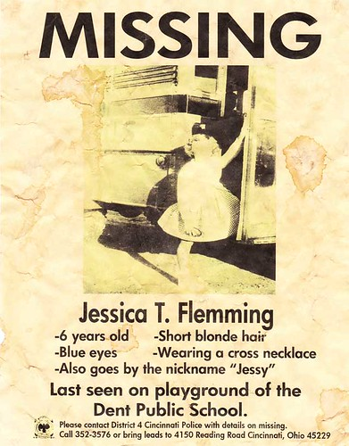Jessica Missing Poster | by The Dent Schoolhouse