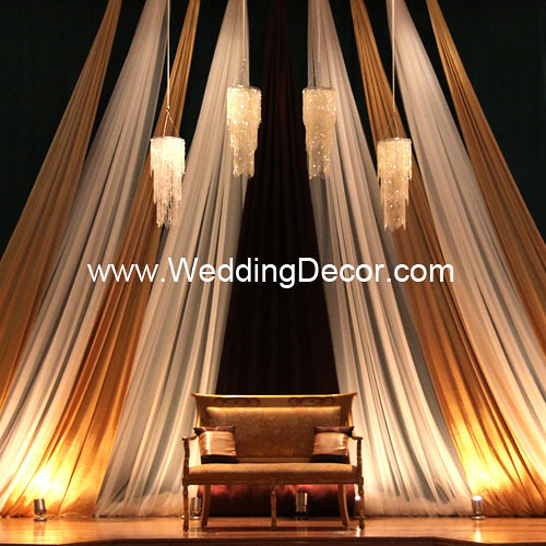 Wedding Backdrop Gold Brown Ivory A Gold Brown Ivo Flickr