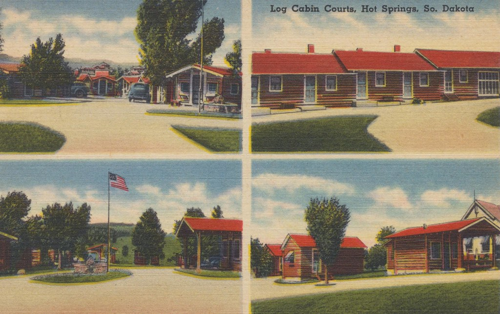 Log Cabin Courts - Hot Springs, South Dakota