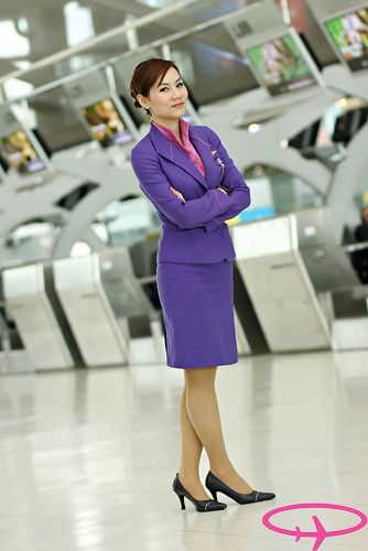 Lovely Thai Airways Stewardess For More Updated Pictures