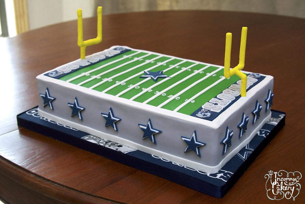 Dallas Cowboys Field Cake Dallas Cowboys Field cake Vanil Flickr