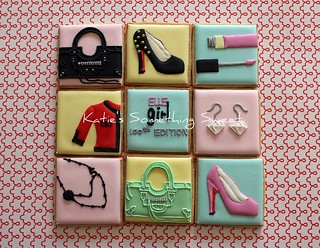 Fashion Theme Cookies | by Katie's Something Sweet