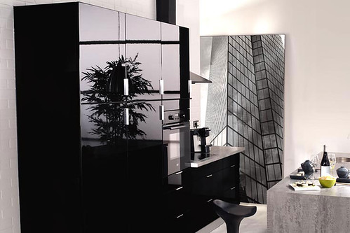 cuisine quip e noire mod le design brillant etna flickr. Black Bedroom Furniture Sets. Home Design Ideas