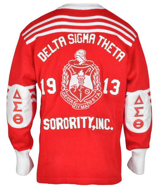 Delta Sigma Theta Cardigan Sweater Red Front Buffalo Dallas Flickr
