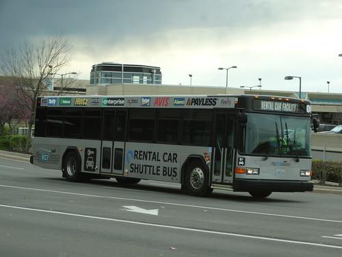 Rental Car Shuttle Bus 06 Rental Car Facility Mci Kansas
