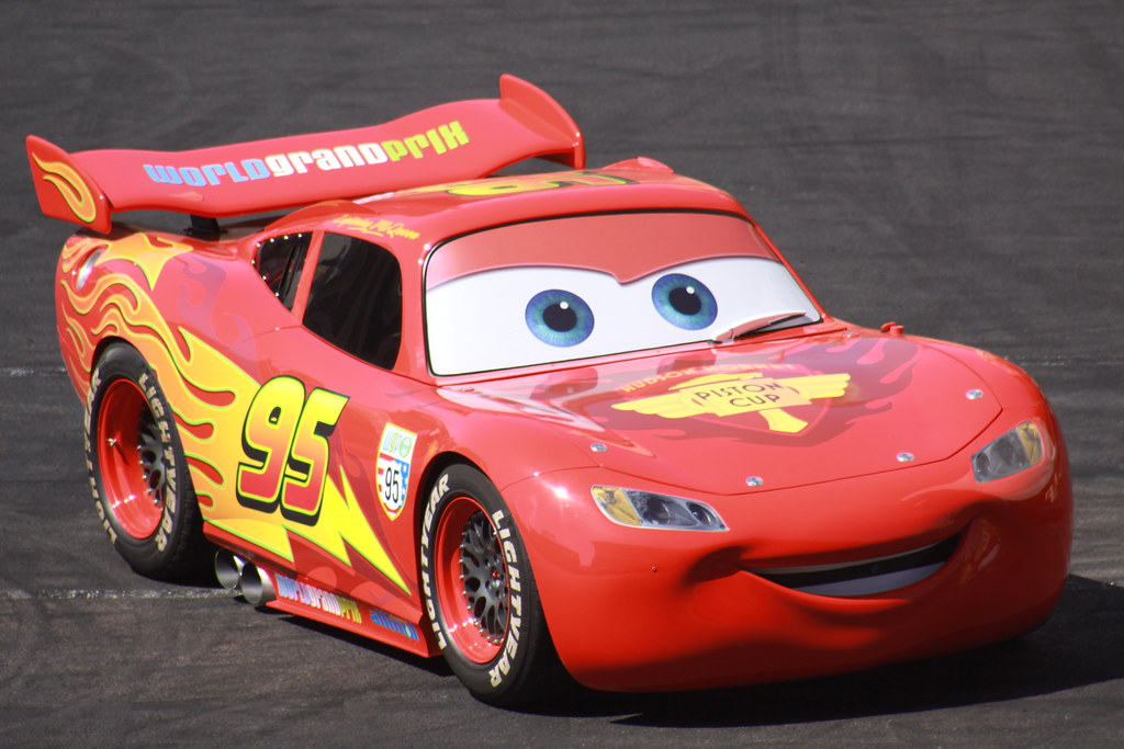 flash mcqueen the real one by mik arber