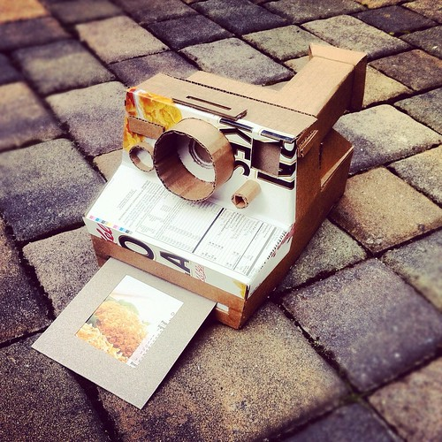 Cardboard Polaroid | by the other Martin Taylor
