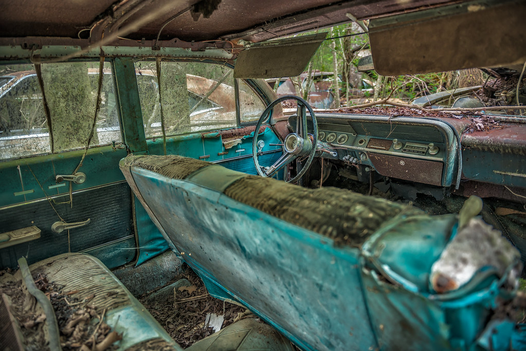 Interior HDR @ Old Car City USA (White, Georgia) | Please ha… | Flickr