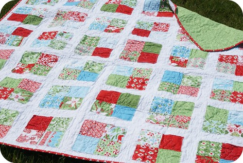my synchronized squares quilt. | by rachelgriffith
