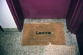 LEAVE | by ▲brian james