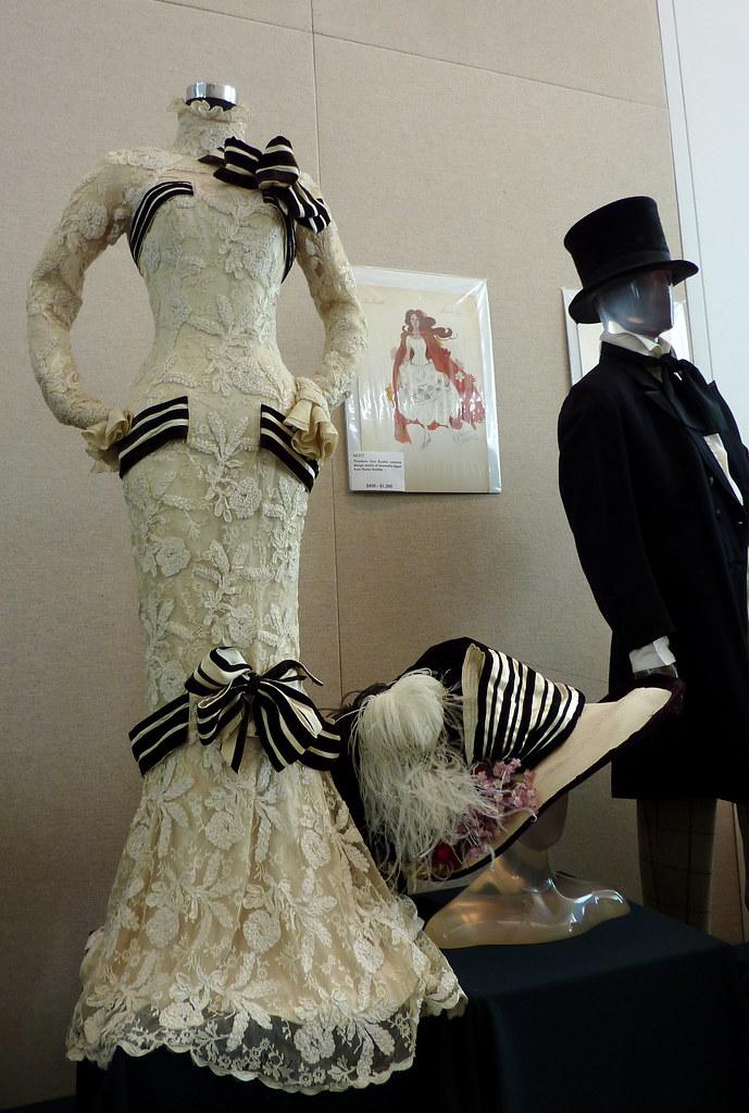 Audrey Hepburn My Fair Lady Ascot dress and hat, sketch & … | Flickr