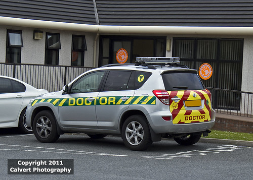 Emergency Doctor / Toyota RAV 4 / NEW & Very Rare | by Calvert Photography