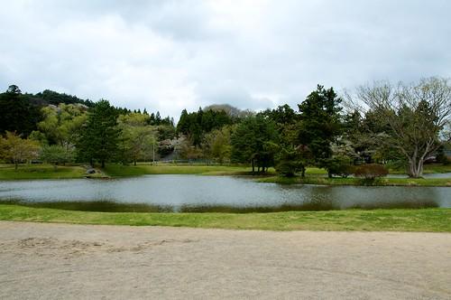 観自在王院跡 舞鶴が池