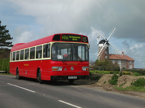 Westcliff - YEV307S - Weybourne - 14 April 2012 (2) | by Steven's Transport Photos