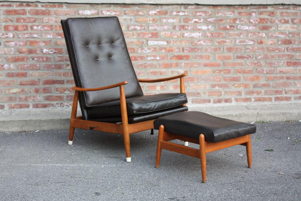 Groovy Early Milo Baughman Mid Century Modern Recliner Rocker O Short Links Chair Design For Home Short Linksinfo