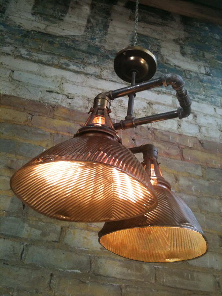 repurposed lighting. Omega Too-vintage Industrial Light-steam Punk Light-by Mark Bell-cool Repurposed Lighting
