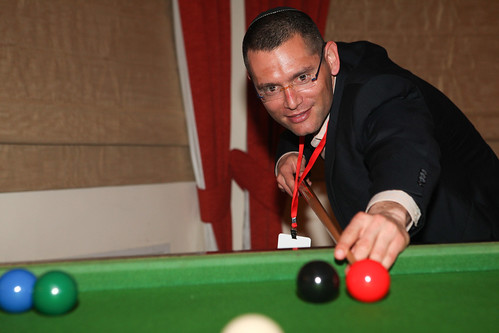 enjoying a game of snooker | by UK in Israel