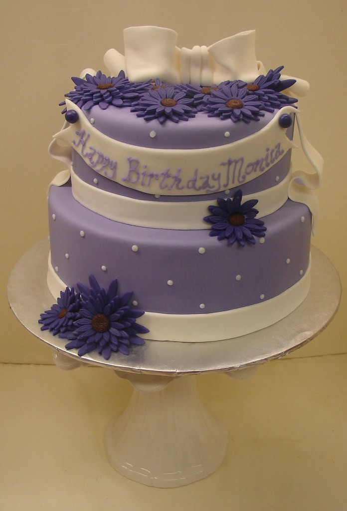 Lavender Bliss Birthday Cake Lavender Bliss Birthday Cake Flickr