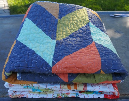 Folded quilts | by Crazy Knitter