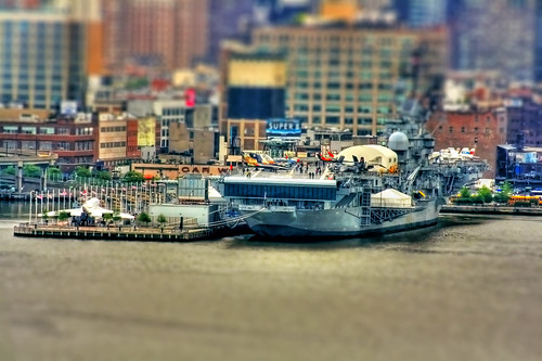 New York City - Intrepid Sea-Air-Space Museum - TiltShift | by Daniel Mennerich