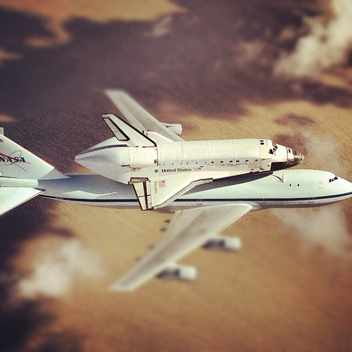 Space Shuttle Discovery to Fly Over Washington Metro Area April 17 | by NASA Goddard Photo and Video