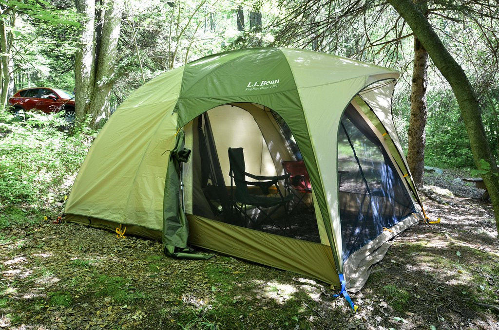 ... LL Bean King Pine 4 Person Tent | by osiristhe & LL Bean King Pine 4 Person Tent | Camping out in the Loleta u2026 | Flickr