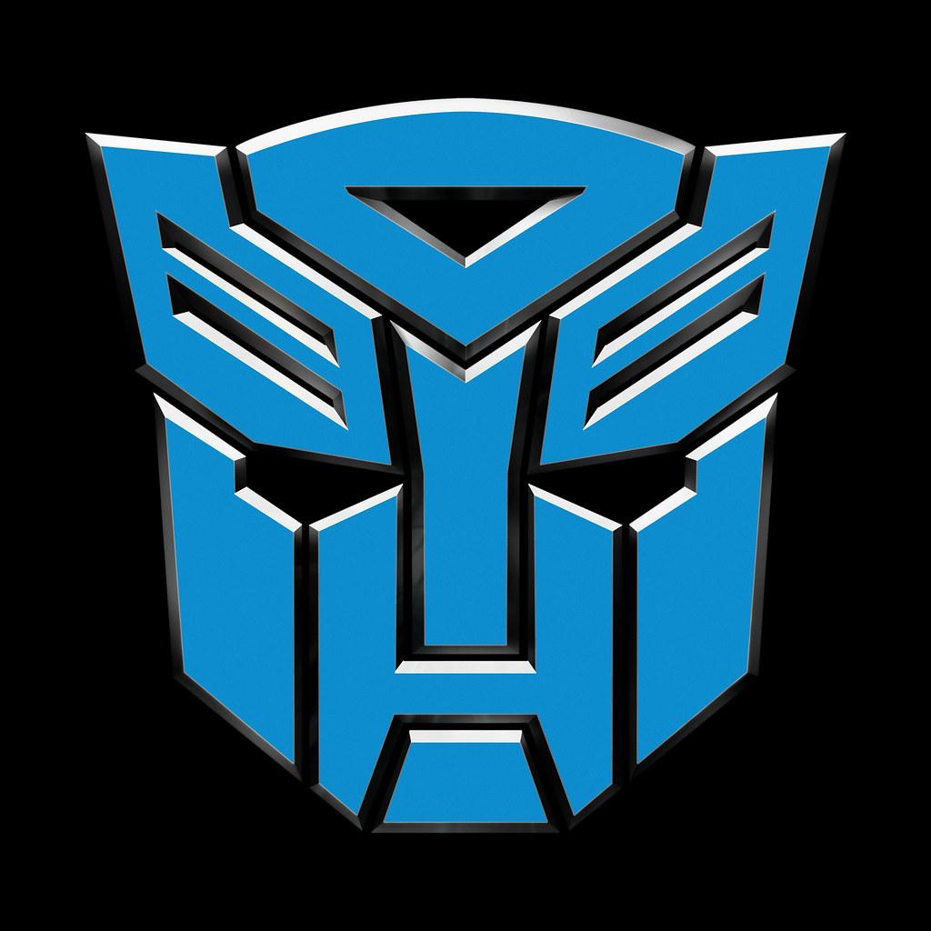 transformers dotm tf3 autobot logo symbol blue jeffrey marshall
