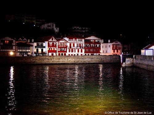 Ciboure de nuit office de tourisme de saint jean de luz flickr - Office de tourisme de ciboure ...