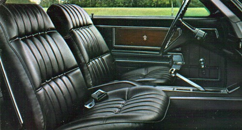 1968 Chevrolet Caprice Coupe Interior | by coconv