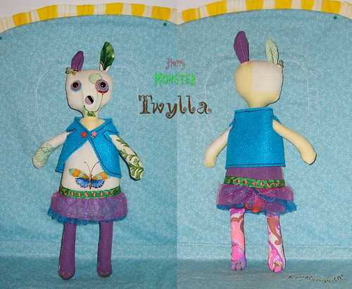 Happy Monster Easter Bunny: Twyla | by WRReyes/ Creaturesmith