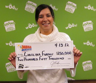 Carolina Furdui - $250,000 Mega Millions | by Idaho Lottery