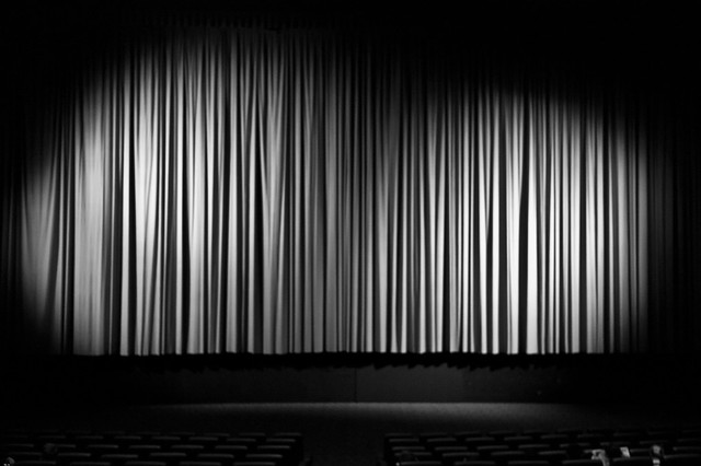 Black and white theater curtains - Black And White Theater Curtains Galleryhip Com The