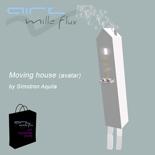 Moving house  avatar by  Simotron Aquila | by Marc Moana aka Marc Blieux