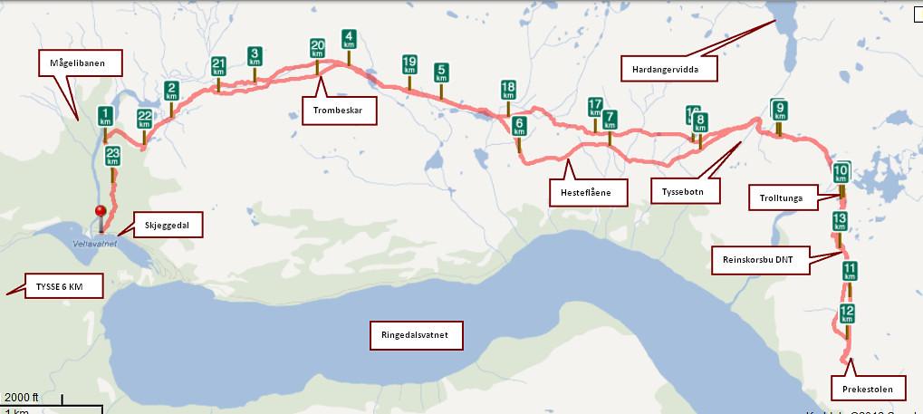 kart over trolltunga 1206 15 Kart Trolltunga | Kjell Arne Berntsen | Flickr kart over trolltunga