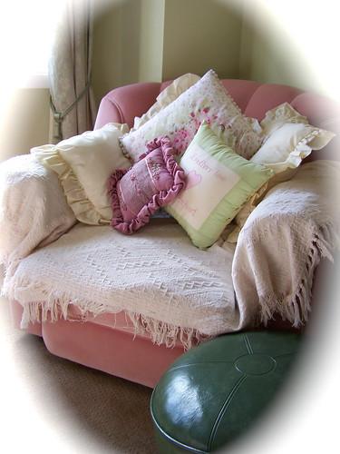 Romantic Shabby Chic Living Room