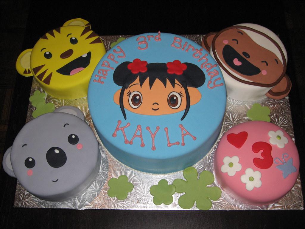 Ni Hao Kai Lan Birthday Cake Evonne Flickr