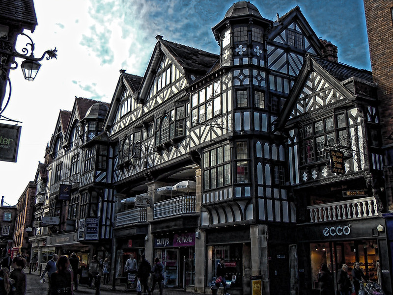 Eastgate Street Chester England