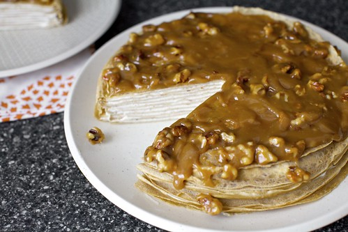 banana bread crepe cake | Banana Bread Crepe Cake with ...