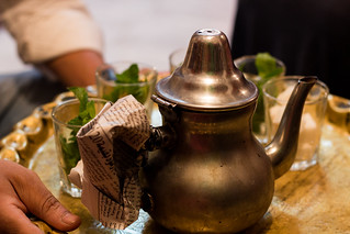 Moroccan mint tea | by lizziemoch