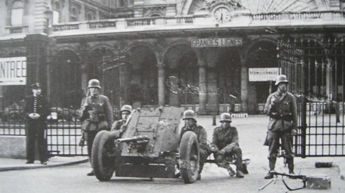 German troops early on in the occupation | by Gez Too!!!