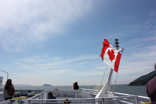 On the ferry crossing Howe Sound to Bowen Island BC | by CatCalls