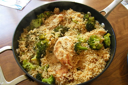 Spiced Chicken with Rice & Broccoli | by cseeman