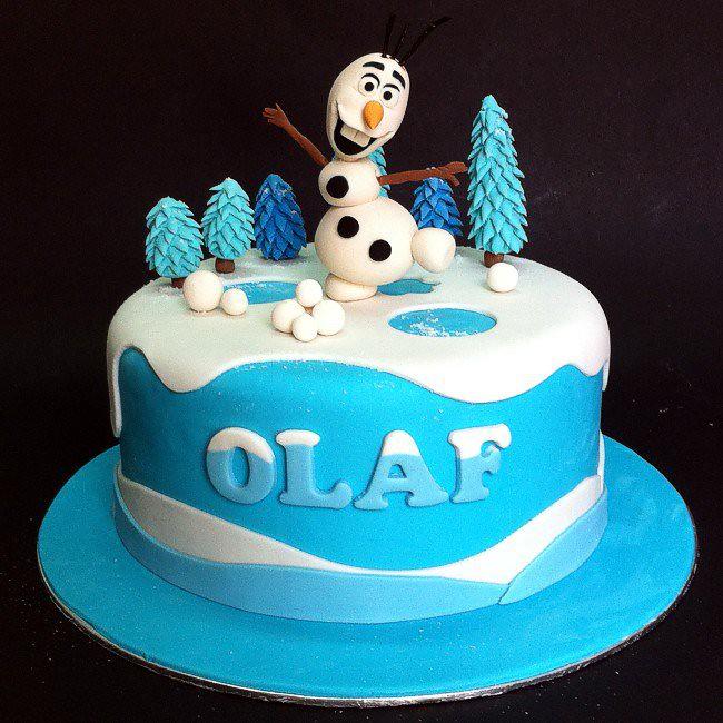 Cakedeliver Fondant Frozen Olaf Cakes Fondant 3d Disney Fr Flickr