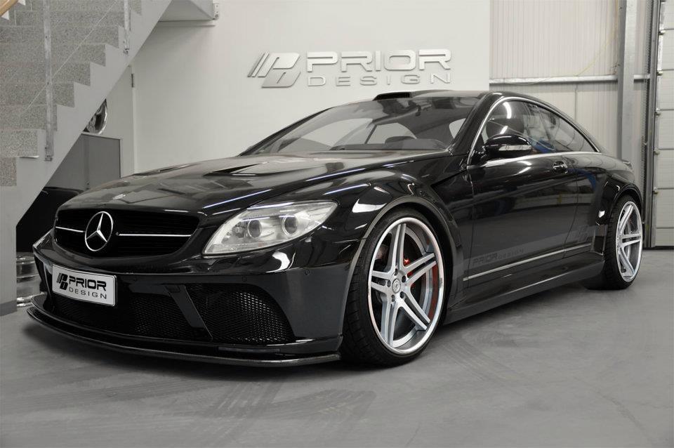 Mercedes CL W216 PD Black Edition Widebody PRIOR DESIGN