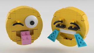 Brick-moji by Steven Reid, on Flickr
